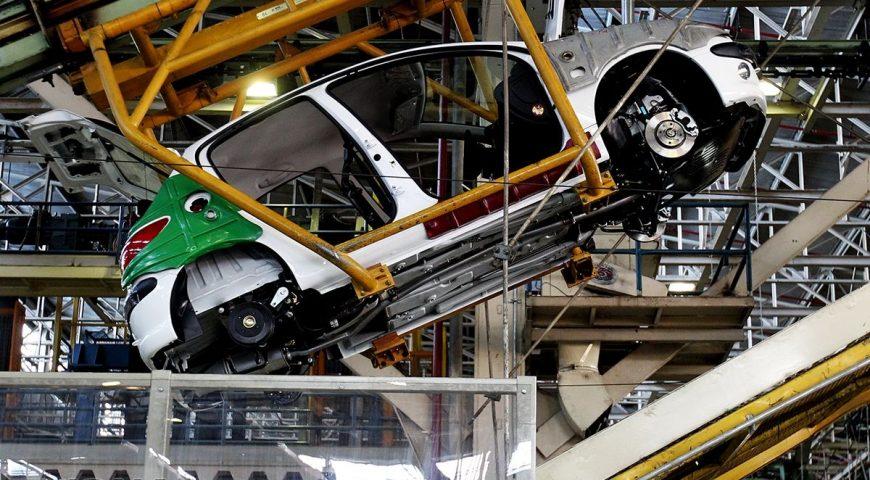 تکمیل خط تولید قطعات خودرو در ایران